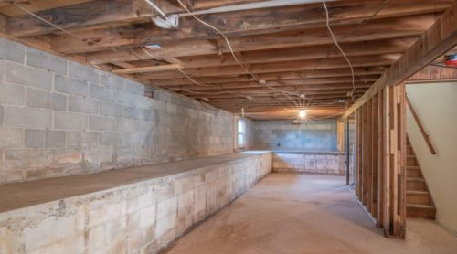 Clean and Dry Basement