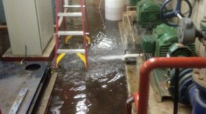 flooded basement in baltimore